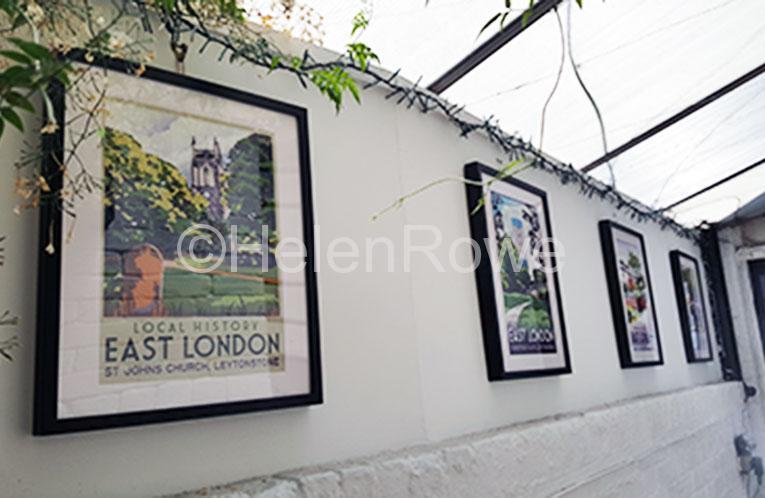 The North Star, Helen rowe illustration, digital art, leytonstone, leytonstone arts trail